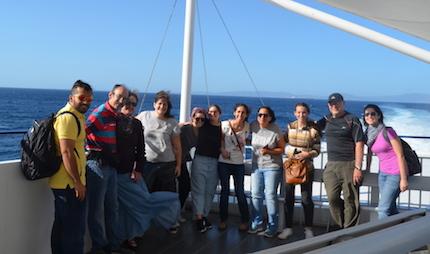 Participantes del viaje misionero.