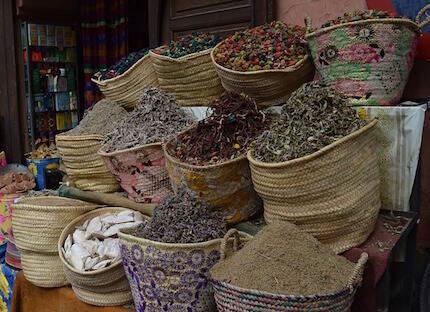 Zoco en Marruecos.
