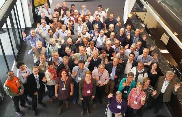 Participantes en la Asamblea General de la Alianza Evangélica Europea. / EEA,