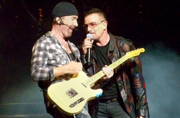 U2, en concierto. / WIkipedia,