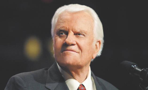 Billy Graham, en una de las campañas evangelísticas. / Baptist Press,
