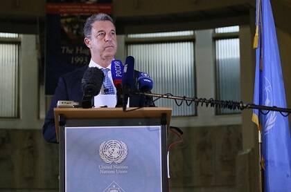 El fiscal del TPIY Serge Brammertz da declaración después del juicio de Ratko Mladic. / Flickr ICTY (CC)