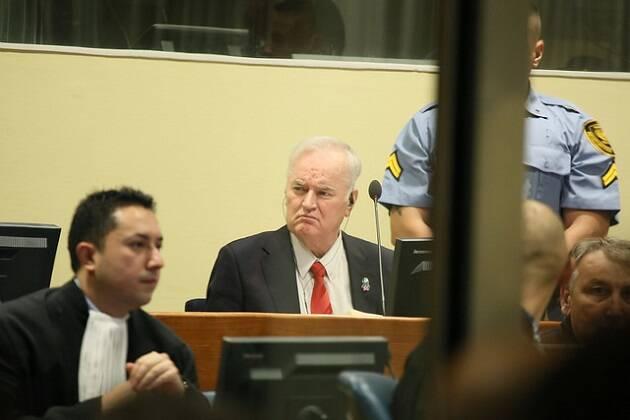 Ratko Mladic, durante el juicio. / Flickr ICTY (CC),