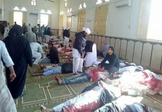 Cientos de personas han fallecido en el ataque. / Egypt Daily News,