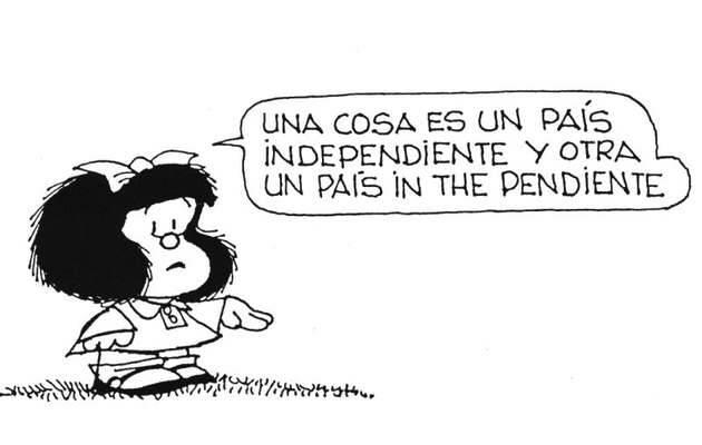 ,mafalda quino, pais independiente