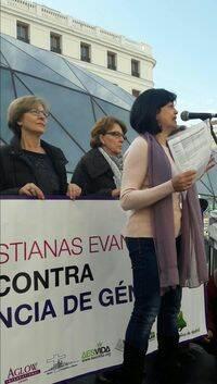El acto fue presentado por Asun Quintana, Consejera de la Mujer del CEM. / CEM