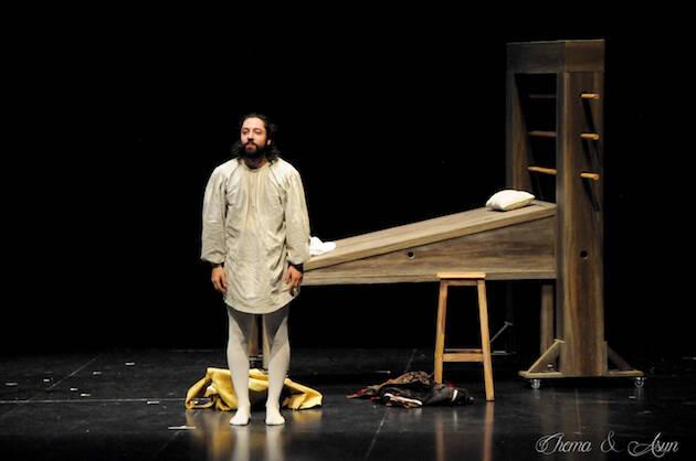 Una de las escenas de la obra. / Chema&Asun,