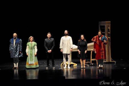 La compañía Bambalúa teatro ha recreado episodios de la vida de Enzinas a partir de sus propios escritos. / Chema&Asun