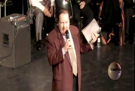 El pastor Lisardo Cano, en una predicación emitida en Youtube. / Cielo Abierto TV,