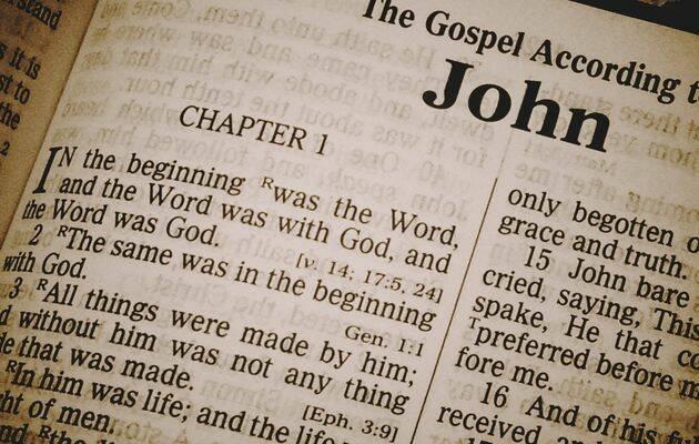 En el principio era el Verbo, y el Verbo era con Dios, y el Verbo era Dios./ Foto: Wikimedia Commons.,