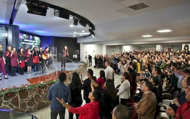 El culto de Navidad en la iglesia Nueva Vida de Madrid / BNTV,nUEVA vIDA, iGLESIA EVANGÉLICA