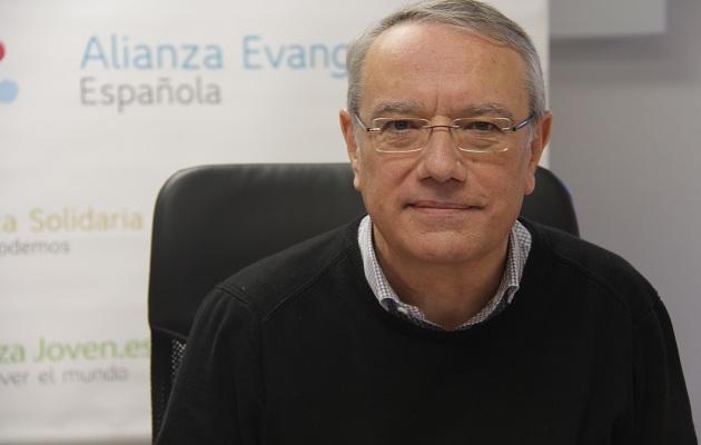 El secretario general de la Alianza Evangélica Española, Jaume Llenas. / J.Soriano,Jaume Llenas