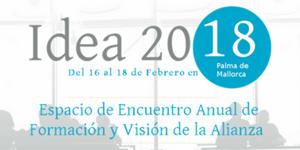 Cartel de IDEA 2018. / AEE