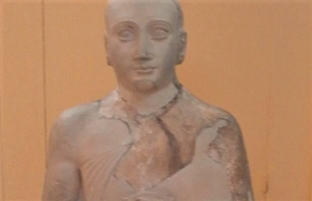 Estatua de Gudea de Lagash. Museo Arqueológico de Estambul. / Marc Madrigal,