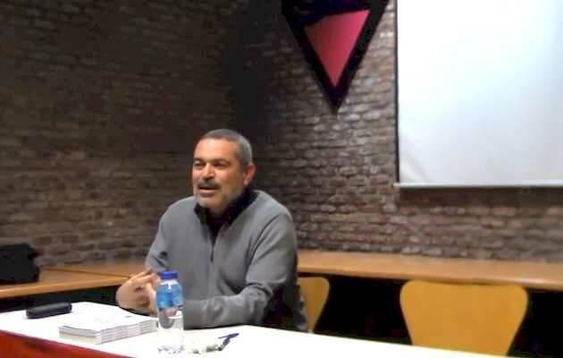 Juan Sánchez, durante su conferencia en COGAM / youtube,Juan Sánchez, IEE COGAM