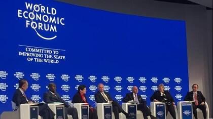 Una de las conferencias del Foro Económico Mundial. /WEF