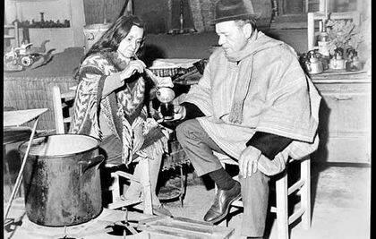 Nicanor y Violeta Parra.