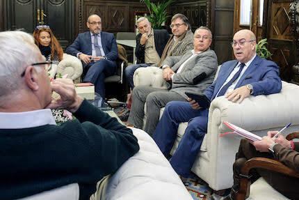 Joan Ribó recibió a delegación de evangélicos