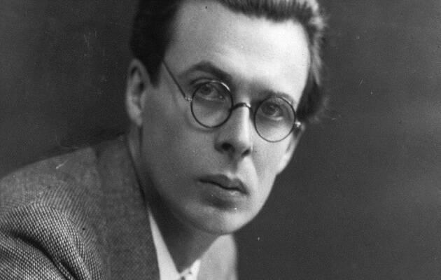Aldous Huxley.,