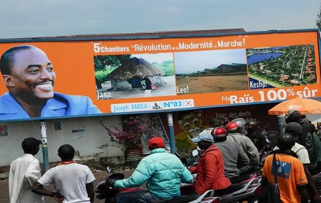 Un cartel electoral de Kabila en las últimas elecciones, de 2011. / Enough project (Flickr),