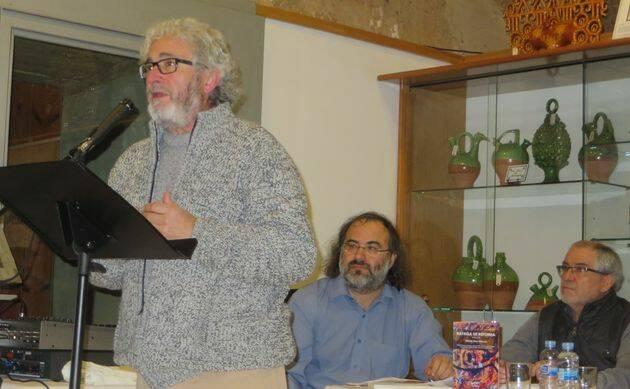 El poeta leonés Leopoldo L. Samprón.,