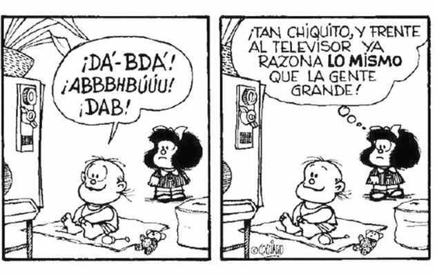 ,televisión Mafalda, humor Quino