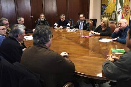 Un momento del encuentro. / Prensa Jerez