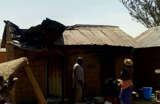 89 casas han sido quemadas y muchos terrenos de cultivo. / WWM