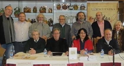 Algunos de los poetas participantes del XIV Encuentro (foto de Jacqueline Alencar)