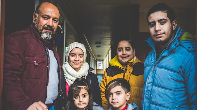 Familia en Estados Unidos. / World Relief,