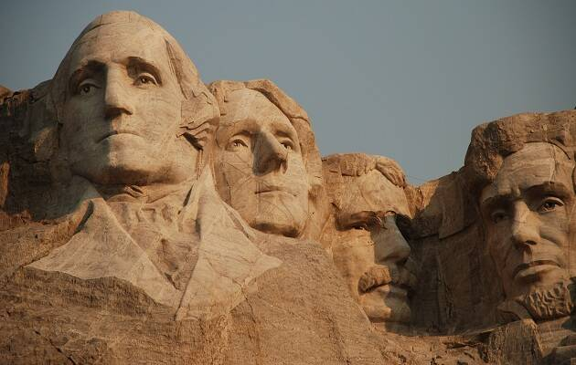 Monte Rushmore. / Ronda Darby,