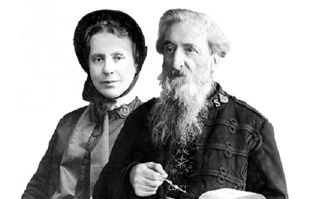 Catherine y William Booth, los fundadores del Ejército de Salvación.,