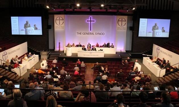 Imagen de un sínodo general de la Iglesia de Inglaterra. / CofE,