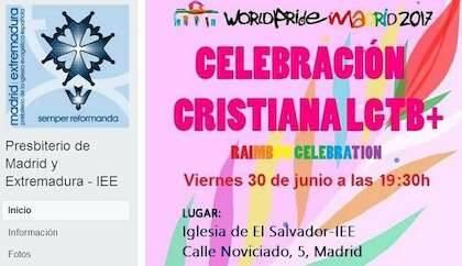 Cartel del World Pride 2017 celebrado en la IEE