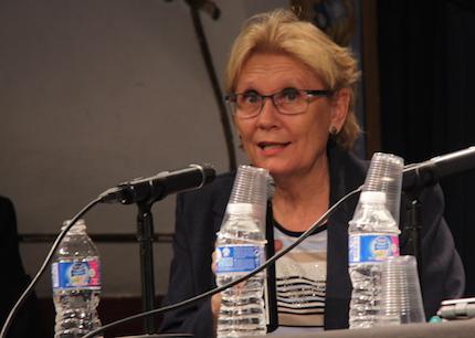 Anna Moilanen, defensora de la Ciudadanía en Palma. / J. Soriano