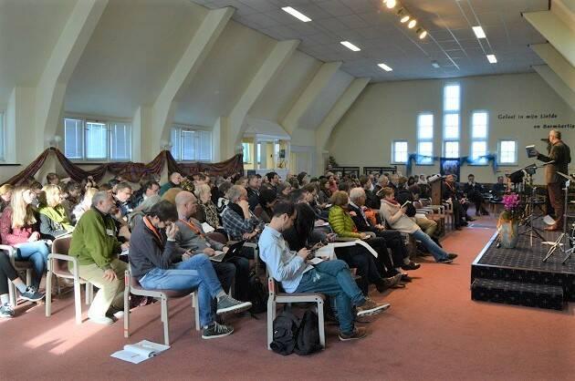 Una de las sesiones plenarias en el encuentro celebrado en Holanda, este mes de febrero. / Don Zeeman,