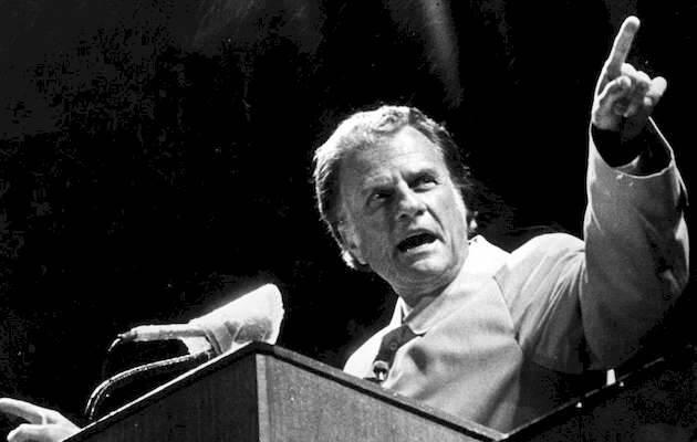 Billy Graham predicando,Billy Graham