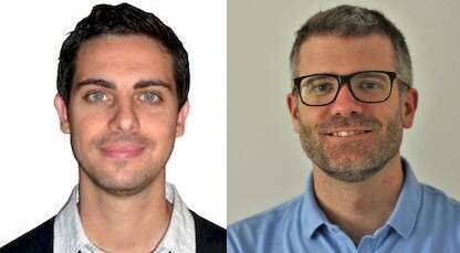 Daniel Hofkamp (i) y Joel Forster (d)