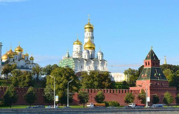 El edificio del Kremlin. / Larry Koester,