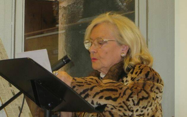 La poeta Araceli Sagüillo. / Jacqueline Alencar,