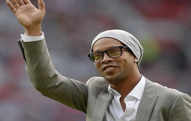Ronaldinho en un evento reciente. / Facebook oficial de Ronaldinho,