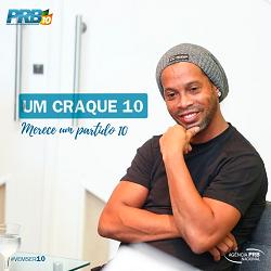 Un cartel del PRB en el que se lee: un crack 10 para un partido 10. / PRB