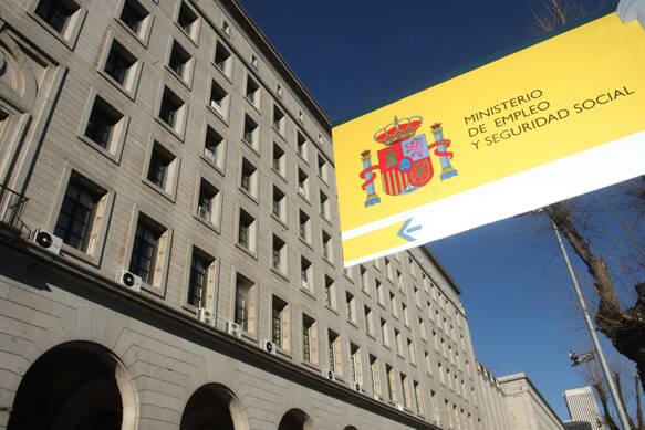 Sede del ministerio de Empleo y Seguridad Social en España.,