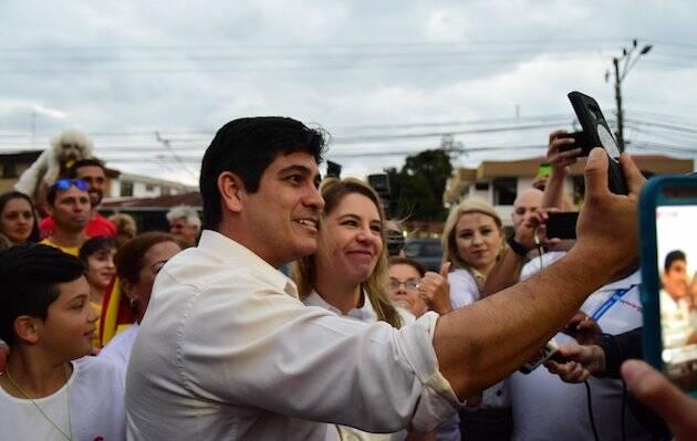 Carlos Alvarado, nuevo presidente de Costa Rica. / FB Carlos Alvarado,