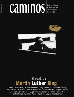 Portada de la revista Caminos para el 40 aniversario de la muerte de MLK.