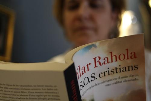 Occidente rechaza la visión de que el cristianismo pueda ser una víctima, dice Rahola. / J. Soriano