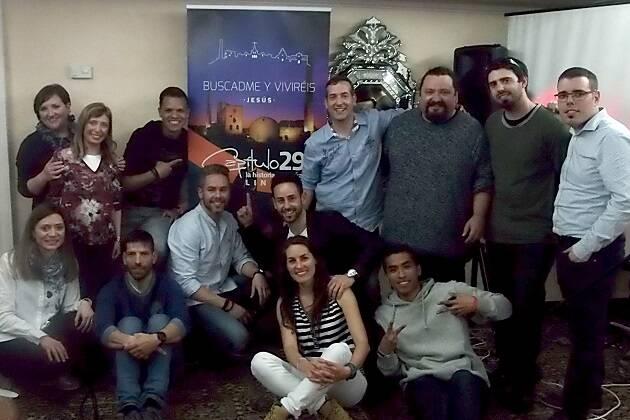 Miembros de la comunidad de C29 de Linares. / C29 Linares,