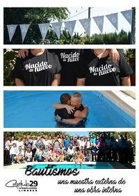 Cartel de bautismos. C29 Linares