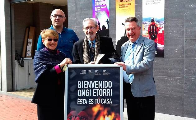 La psicóloga Ester Martínez ha sido la encargada del seminario, organizado por la Iglesia Sion Barakaldo. / Ibai Cereijo,