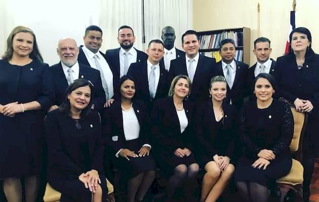 Los catorce diputados del PRN con Fabricio Alvarado,Dipitados PRN, Costa Rica